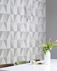 Lenus   Papel de parede geométrico   Padrões de papel de parede   Papel de parede dos anos 70