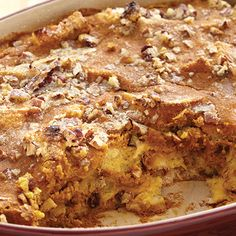 Pumpkin Bread Pudding - The Pampered Chef®