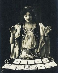 Happy Friday the 13th!! I wonder what's in the cards for today?❤❤ #laplumenoirdotcom #laplumenoir #gypsy #fortuneteller #fridaythe13th #vintagephotograph #whatdoesyourfuturehold