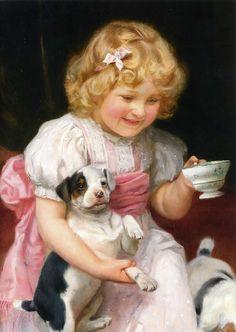 Arthur John Elsley (1860 – 1952) – Pintor Inglês_6a