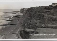 Cliffs at Bishopstone Old Pictures, Past, Beach, Water, Outdoor, Image, Beautiful, Gripe Water, Outdoors