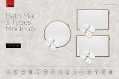 Bath Mat Mock-up by mesmeriseme.pro on Creative Market