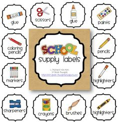 3rd Grade Thoughts: Classroom Supplies: Sharp & Dull Pencils FREEBIE
