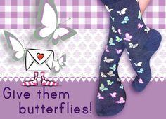 #butterfly #socks