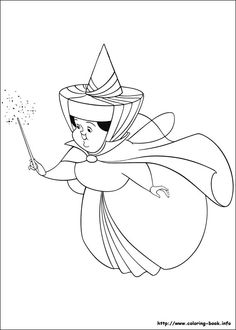 Sleeping Beauty Coloring Pages Maleficent Coloring Page – Cartoon ...