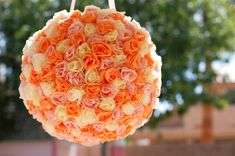 Paper rose pinata - Wow!