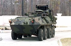 LAV-AT TOW Anti-Tank Guided Missile Vehicle (USA)