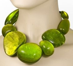 Chunky necklaces are your best friend, to bring attention to your slimmer upper torso.