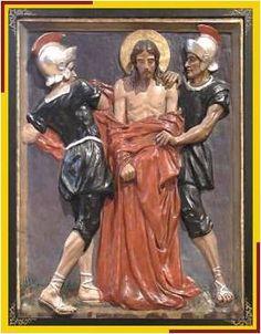 Jesús expoliado de su ropa