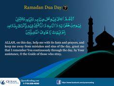 Ramadhan Dhuas: Day 7
