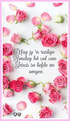 Sunday Morning Prayer, Morning Prayers, Afrikaanse Quotes, Goeie More, Good Morning Good Night, Place Card Holders, Van, Inspirational, Thinking About You