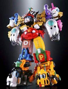 Disney Super Robot – Quand Mickey et ses amis rencontrent les jouets japonais et les Power Rangers