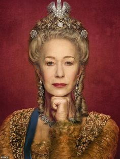 Sky Atlantic is releasing a new drama about Catherine the Great's life, with Helen Mirren magisterial in the title role Helen Mirren, Kate Wright, Dame Helen, Dramatic Hair, Paul Hollywood, Catherine The Great, She Wolf, Elizabeth I, The Empress