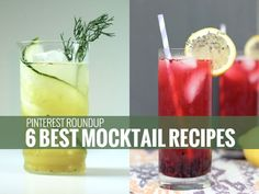 Six Best Mocktail Recipes