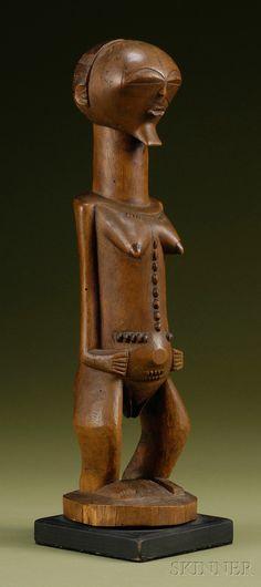 African Sculptures, Art Premier, Tribal Art, Traditional Art, Sculpture Art, Les Oeuvres, Statues, Metal Working, Folk Art