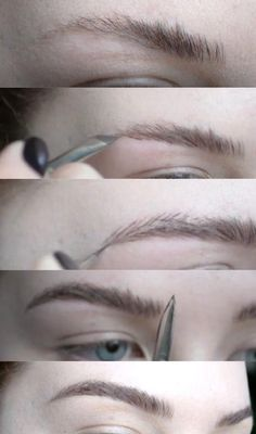 This Woman's Brow Tutorial Is Going Viral—and She Only Uses One Product | Here's how she creates hair-like strokes in seconds.