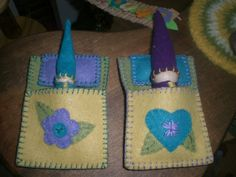 Spring Gnome Sleeping Bag | Wee Folk Art...great patterns for all manner of wee folks for Lively