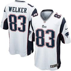 5c80c6ffb Wes Welker  83 Jersey - Youth New England Patriots Elite White  79.99 Nike  Nfl