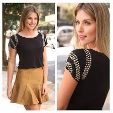 Amazing Sewing Patterns Clone Your Clothes Ideas. Enchanting Sewing Patterns Clone Your Clothes Ideas. Diy Sweatshirt, T Shirt Diy, Diy Clothing, Sewing Clothes, Diy Fashion, Womens Fashion, Fashion Tips, Fashion Design, Blouse Styles