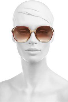 Retrosun Vintage Christian Dior sunglasses  NET-A-PORTER.COM
