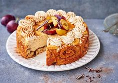 Korvapuusti-juustokakku Irish Cream, Let Them Eat Cake, Pie Recipes, Love Food, Cheesecake, Food And Drink, Cupcakes, Sweets, Baking