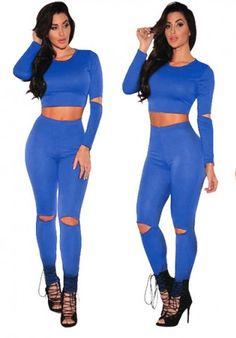 What's new @ www.sexyheksielingerie.com  Blue, Women's Cas... Follow link http://sexyheksie.myshopify.com/products/blue-womens-casual-long-sleeve-top-pants-set-m-lr26550-3?utm_campaign=social_autopilot&utm_source=pin&utm_medium=pin