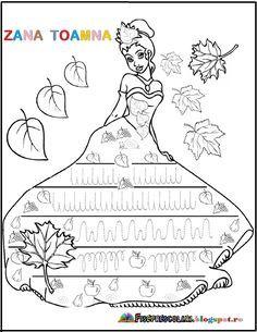 FISE cu Semne grafice pentru copii - TOAMNA - Zana Toamna | Fise de lucru - gradinita Letters And Numbers, Cos, Autism, Learning, Studying, Teaching, Onderwijs