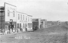 Historical photos photographs of Webb Saskatchewan Canada, North Country, Canadian History, Historical Photos, Small Towns, Vintage Photos, Postcards, Photographs, Street View