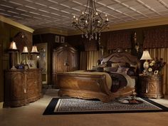 Canopy Bed | Canopy Bedroom Sets | Four Post Canopy Bed 4734 | Luxurious  Bedrooms | Pinterest | Canopy Bedroom Sets, Canopy Bedroom And Canopy