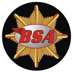 BSA motorcycle logo | Details about BSA CLASSIC LOGO MOTORCYCLE HELMET STICKER