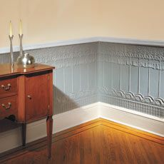 Beautiful Lincrusta Wainscot installation directions, courtesy of thisoldhouse.com.