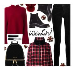 """Sweater Weather"" by justkejti ❤ liked on Polyvore featuring J Brand, Miu Miu, Proenza Schouler, MICHAEL Michael Kors, Kyi Kyi, Moncler, Bobbi Brown Cosmetics and wintersweater"