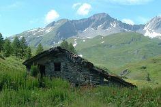 Chalet du Col du Petit-Saint-Bernard, in the Alps , between the Tarentaise valley of Aosta, by the Italian border.