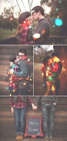 "I am obsessed with this newlywed Christmas photo shoot by Haley Sheffield. I'm talking ""Look-at-everyday-make-my-husband-admire-it-yes-I'm-still-drooling"" obsessed. Christmas Card Pictures, Christmas Photo Cards, Holiday Photos, Christmas Pictures For Couples, Xmas Family Photo Ideas, Family Pictures, Christmas Photo Shoot, Christmas Photoshoot Ideas, Fun Family Christmas Photos"
