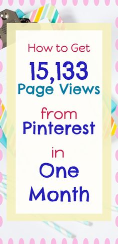 TRIPLE the blog traffic in only 30 DAYS!  Let's talk about how I got an additional 15,133 blog visitors for FREE from Pinterest