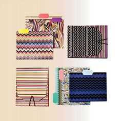Missoni for Target office supplies-file folders Cute Office Supplies, Office And School Supplies, Target Image, Office Supply Organization, Organization Station, Back To School Shopping, Real Simple, Organizer, Missoni