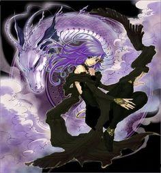 anime magic circles purple - Google Search