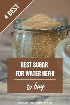 Choosing the Best Sugar for Water Kefir: 4 Best Types of Sugar to Buy - Water Kefir Benefits Tiramisu Trifle, Banoffee Pie, Kefir Probiotic, Probiotic Drinks, Non Alcoholic Drinks, Beverages, Kefir How To Make, How To Make Water, Making Water