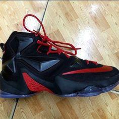 Nike LeBron 13 BRED