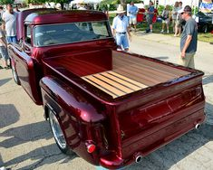 1956 Chevy step side pick up