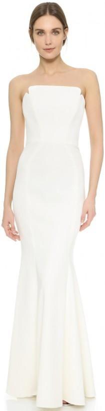Jill Jill Stuart Strapless Maxi Dress
