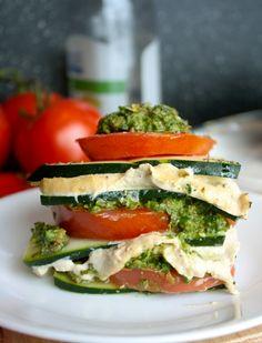 Raw Vegan Lasagna: 16 Raw Vegan Recipes You're Craving Right Now via Brit + Co