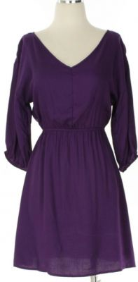 Lovely purple Gameday dress, perfect for #LSU fans from Adabelle's. $42