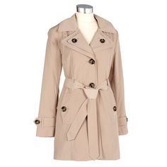 All-weather Coat with Double Collar. All I want for Christmas.