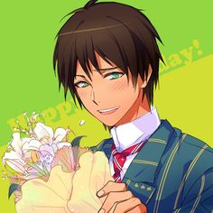 Tags: Anime, Sorasato, Uta no☆prince-sama♪, Aijima Cecil, Bouquet, Birthday