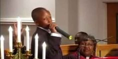 This 10 Yr Old Boy Preaches Better Than Me!