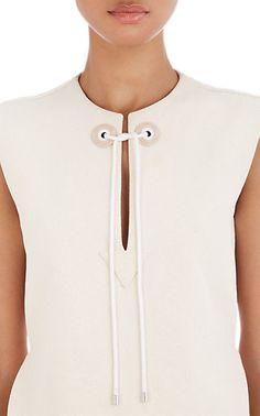 Balenciaga Sleeveless Canvas Top - Blouses - Barneys.com