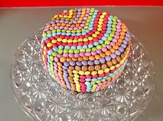 Smarties - Kuchen 1