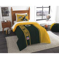 Green Bay Packers Nfl Twin Comforter Set