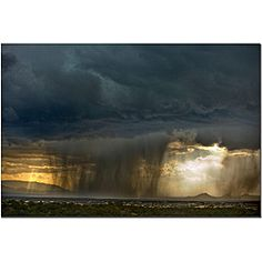 Keith Berr 'Summer Storm' Gallery-wrapped Canvas Art